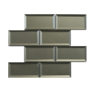 Mosaic 3x6 Bevel Metallic Bronze